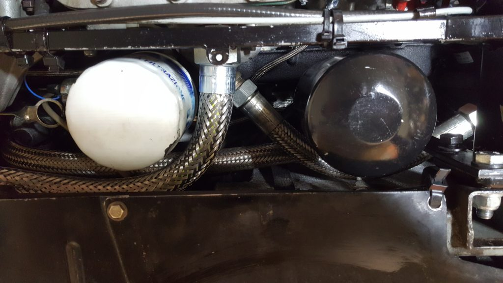Bypass system installed on Testarossa